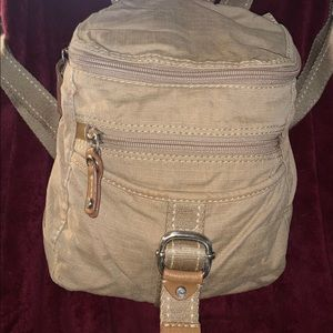 Fossil backpack purse canvas